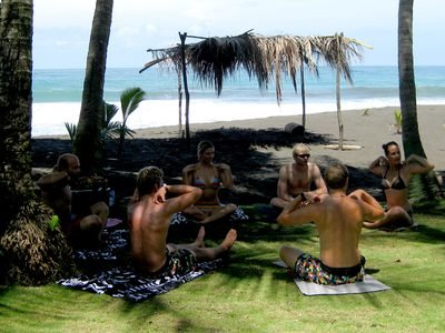 Billabong ISA World Surfing Games | Yoga Sessions in Costa Rica