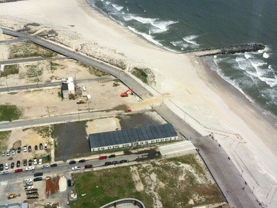 surf spot Atlantic City | view from the Revel™ Resort