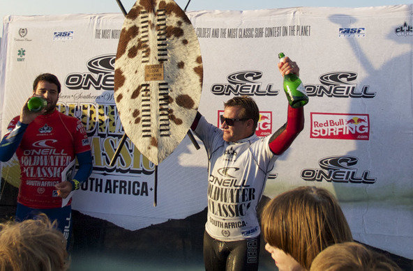 Greg Emslie wins the O'Neill Cold Water Classic South Africa 2010