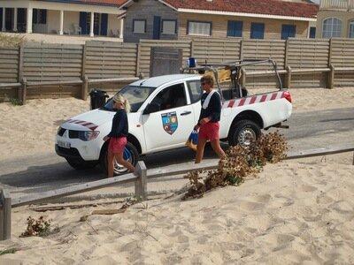 Die Lifeguards von St. Girons wachen auch über die Wellenreiter