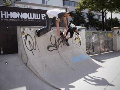 Prominenz auf allen Eben beim Münchener Surf & Skate Festival  2013