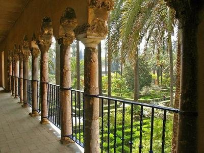 royalty gardens | Alcazar | Sevilla | ©RainerSturm pixelio