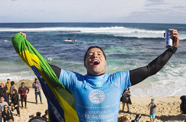 Image: WSL / Kirstin | Adriano de Souza Wins Drug Aware Margaret River Pro