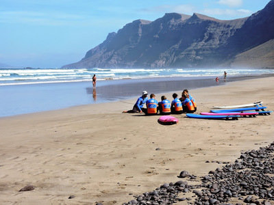 Surf school Famara