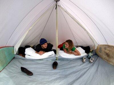 Gemuetliche Zelte