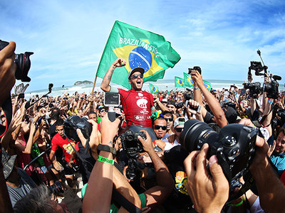 WSL / Kelly Cestari | Toledo and Conlogue Victorious at Oi Rio Pro
