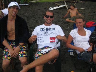 Billabong ISA World Surfing Games | Thomas Lange | Lena Gillhaus | Jan Groenendijk