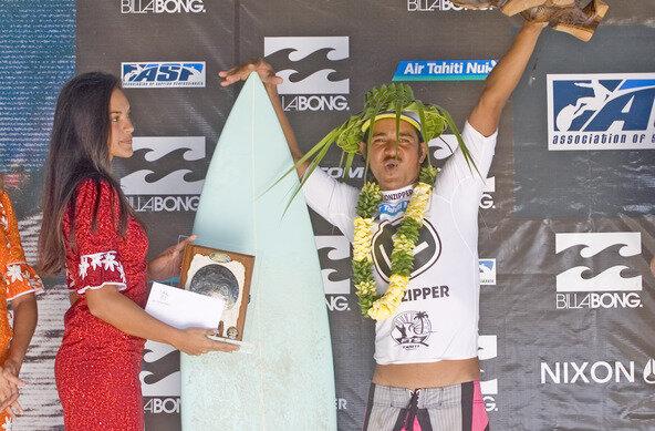 Heiarii Williams Wins Final Wildcard Into Billabong Pro Tahiti