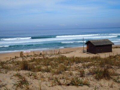 Surfen in St.Girons | Ihr habt die Qual der Wahl zwischen mehreren Peaks