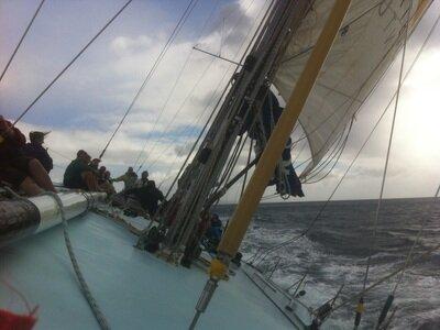 Maxi Power Sailing Rennyacht Fuerteventura