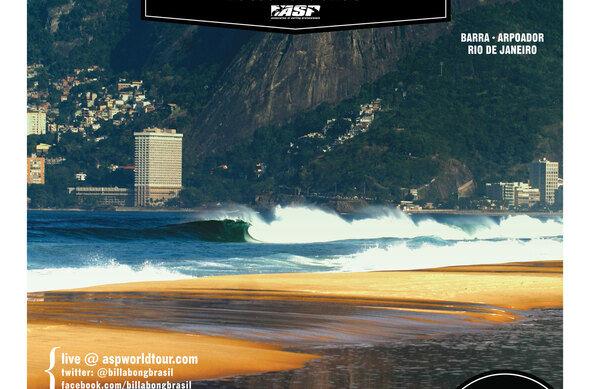 Zweiter Lay Day beim Billabong Pro Rio