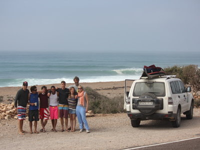 Surf guiding with Morocco Surf Holiday