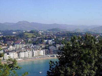 View from above | Monte Urgull | San Sebastian