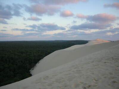 Sandboarden auf der Dune du Pyla | Düne von Pilat
