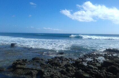 Surfing Las Salinas