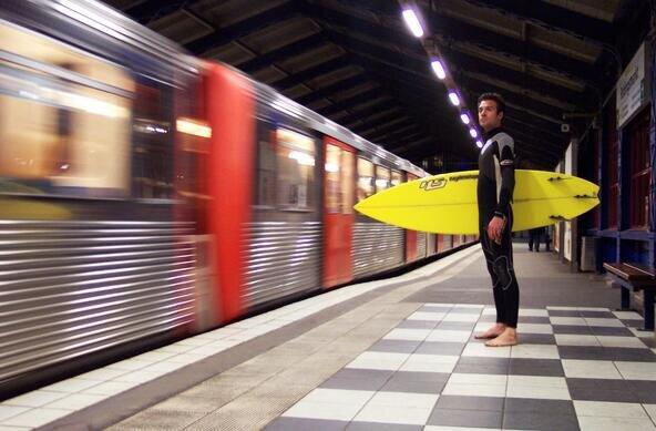 (c) Anika Lütjen | Zweites Münchener Surffestival vom 4. bis 7. August 2011 in der Alten Kongresshalle