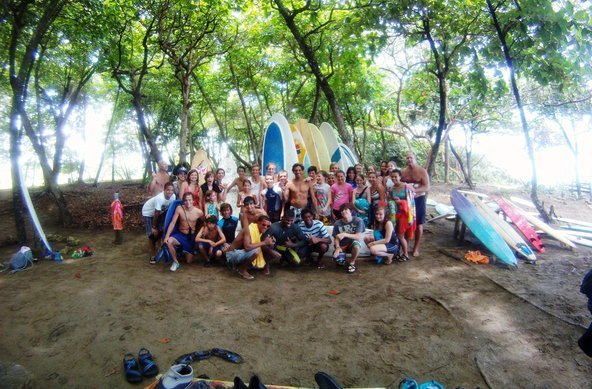 Dominican  Republic Bobo surf camp