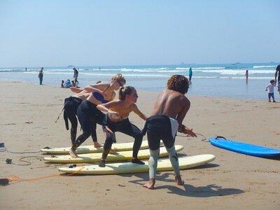 Surfunterricht mit Aziz 2