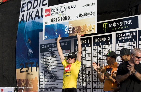 Photographer Servais Hires | Greg Long wins Quiksliver in Memory of Eddie Aikau
