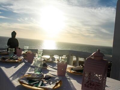 sun set dinner