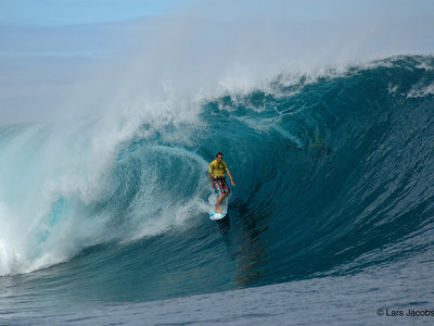 Photographer Lars Jacobsen | Teahupoo