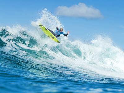 Image: WSL / Kelly Cestari | Mick Fanning Wins Fourth Rip Curl Pro Bells Beach