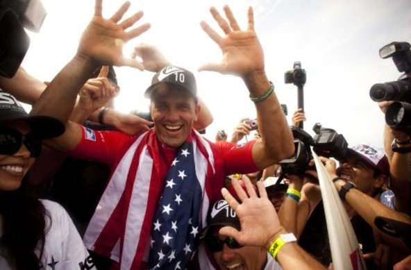 Credit:© Quiksilver Steve Sherman | Kelly Slater 10th ASP World Title