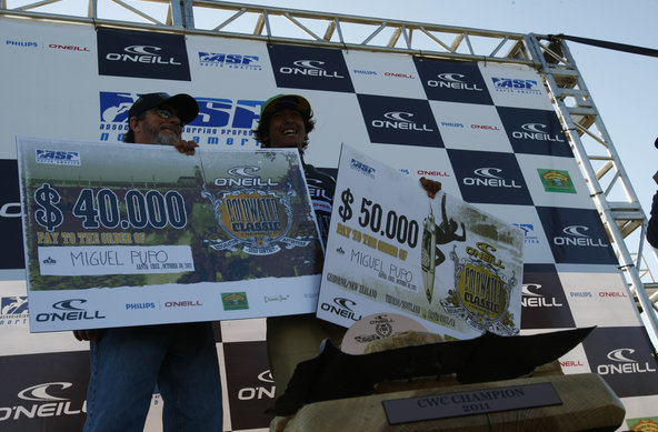 credit cory hansen | Miguel Pupo Wins O'Neill Cold Water Classic Santa Cruz and the the O'Neill CWC Series