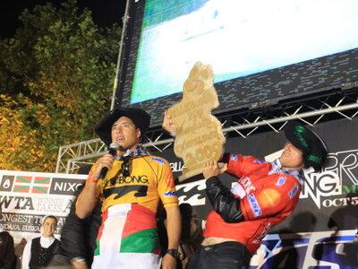 Adriano De Souza Wins Billabong Pro Mundaka 2009