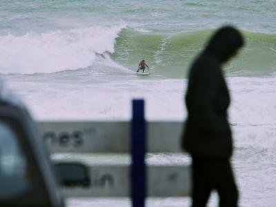 Day One of the O'Neill Cold Water Classic New Zealand