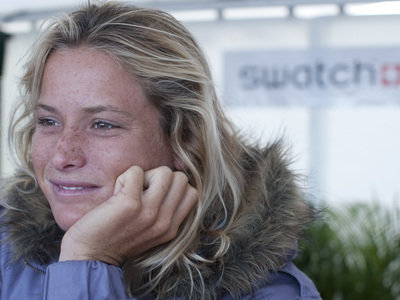 Billabong´s Courtney Conlogue wins the Swatch Girls Pro Junior in Seignosse