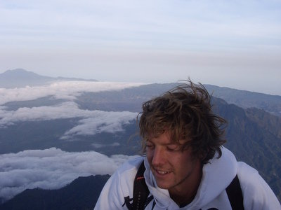 me on Gunung Agung | Surf and Study on Bali