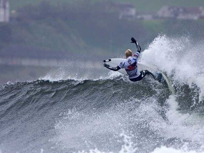 Adam Melling wins the O'NEILL Cold Water Classic