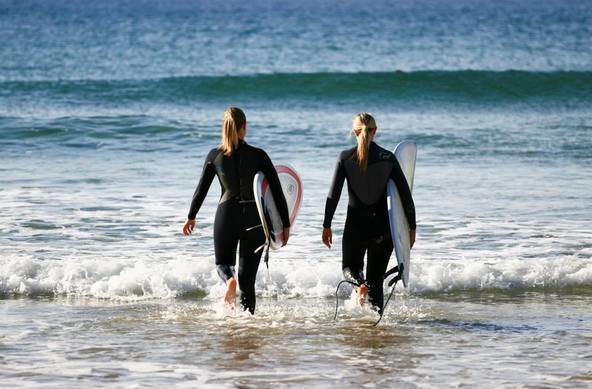 Surf Girl Image