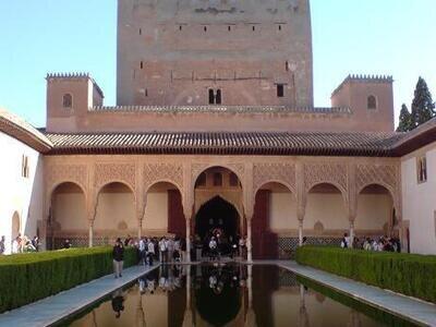 Alhambra | Granada | Andalusien | Kultur und Wellenreiten | ©Nadine-H. pixelio