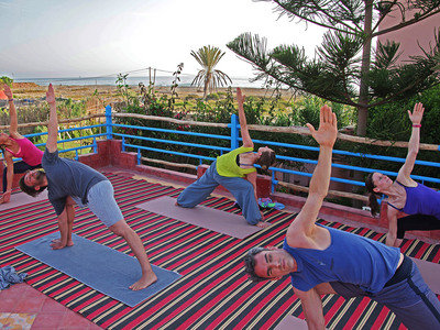 Yoga Morocco Surf