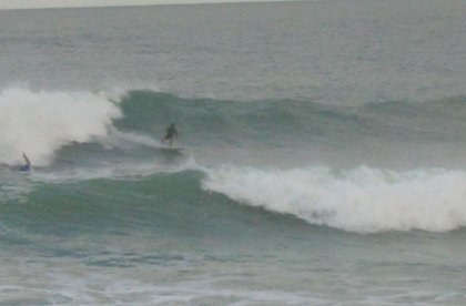 Praia Joaquina    the lefts get really good