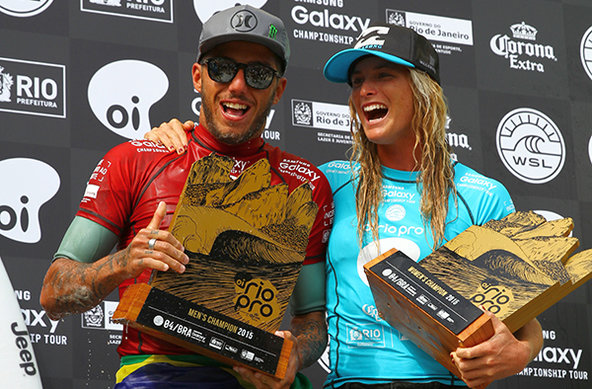 WSL / Smorgio | Toledo and Conlogue Victorious at Oi Rio Pro