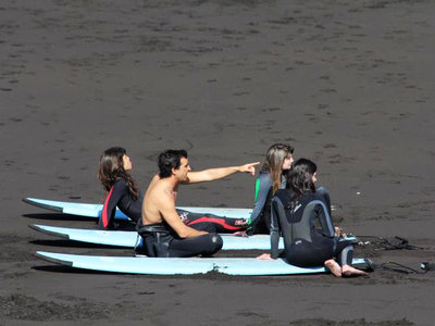 Surfing break