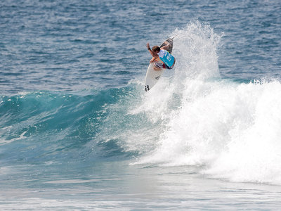 ASP/CI via Getty Images | Taj Burrow Beauty Shot | Billabong Pipeline Masters 2009
