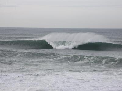 Cabo Mondego, December 2009