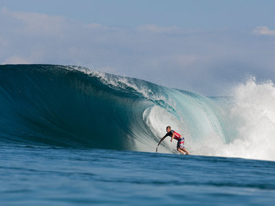 ASP/CI via Getty Images | Taj Burrow in der Pipe auf Hawaii