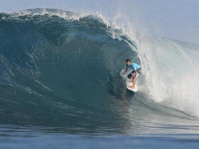 Credit:© ASP / CESTARI | Jeremey Flores wins Billabong Pipe Masters 2010