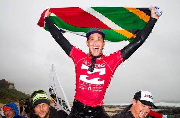 Credit: © ASP / Kirstin Scholtz |  Jordy Smith wins Billabong Pro Jeffrys Bay 2011