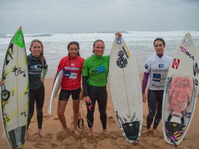 Sieger der Schweizer Surfmeisterschaften 2010 in Zarautz