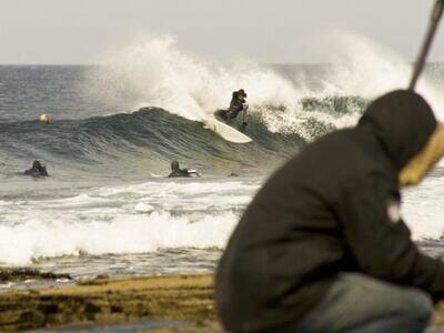 Photographer Lars Jacobsen | Wellenreiten lernen in Schottland