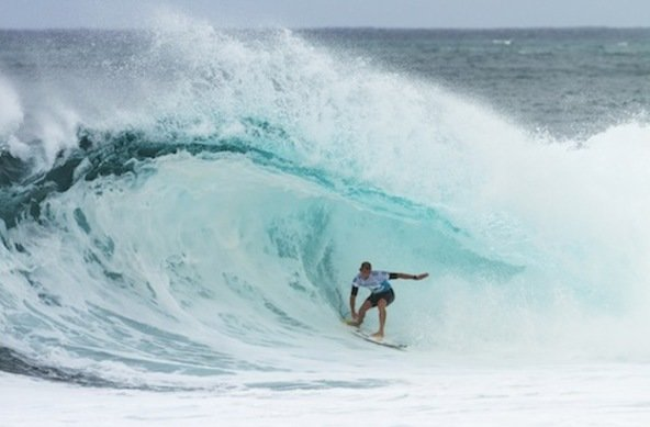 Credit: ASP/DUNBAR | Mick Fanning (AUS), 32, will look to win a 3rd ASP World Title at the Billabong Pipe Masters