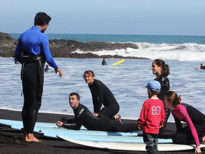 Learning the surf basics