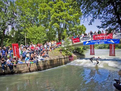 Credit: flohagena.com | In drei Klassen wurden die Sieger ermittelt | Munich Surf Open