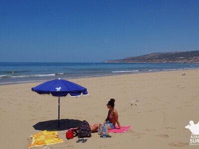 beach chilling
